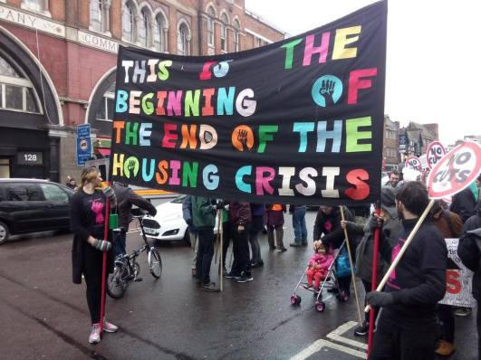 Beginning of End of crisis banner