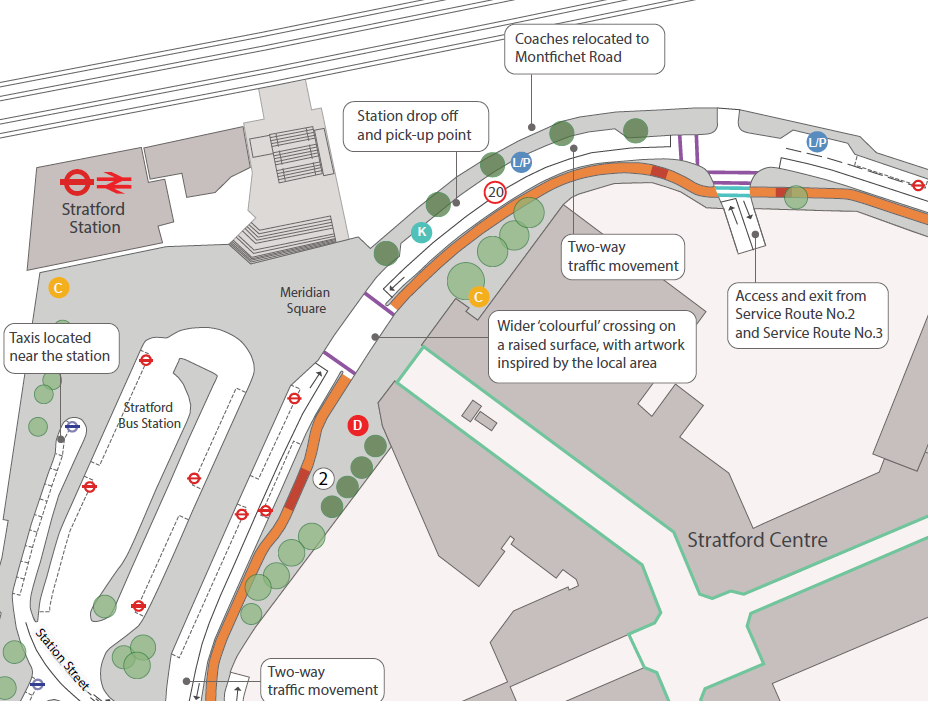 Stratford Town Centre Improvements
