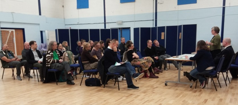 Newham Green Party Townhall meeting for Silvertown residents